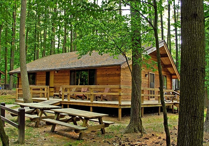 discounted mid week cabin rentals appeal to many west virginia state North Bend State Park Cabins