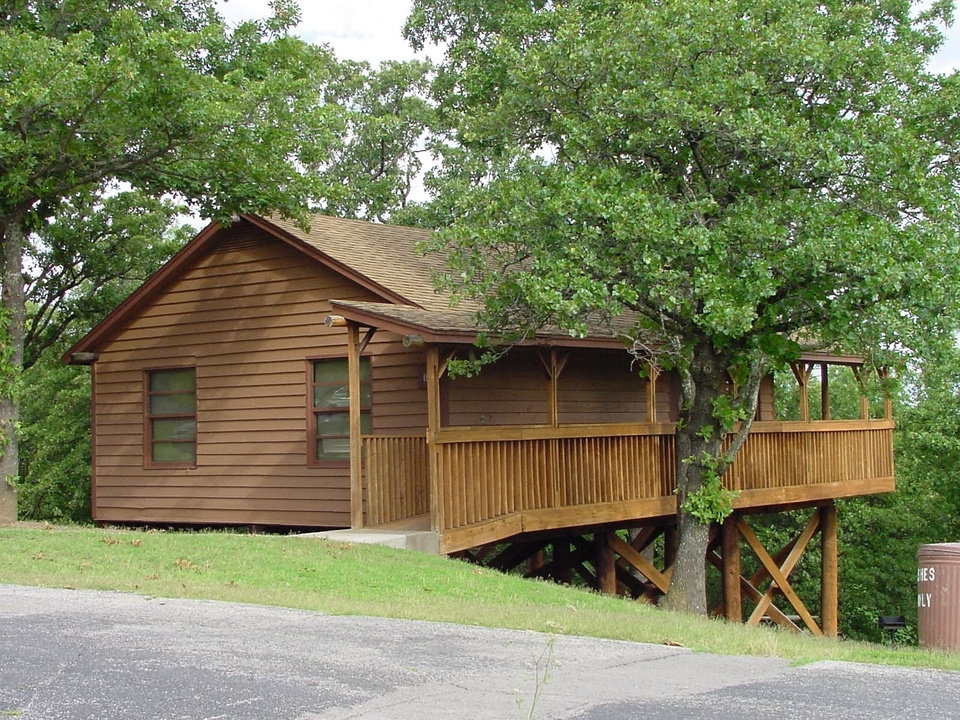 discover oklahoma state park cabins offer comfy getaway Keystone State Park Cabins