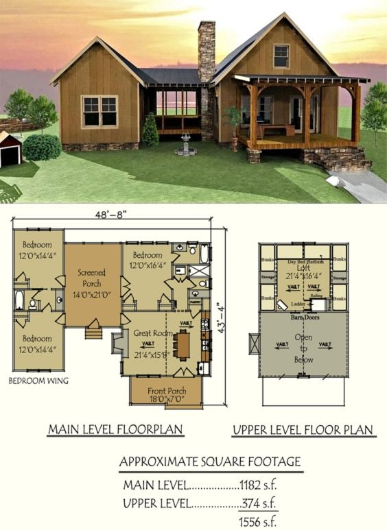 dog trot house plan future cabin pinterest house plans house Amazing Small House Cabin Plans Designs