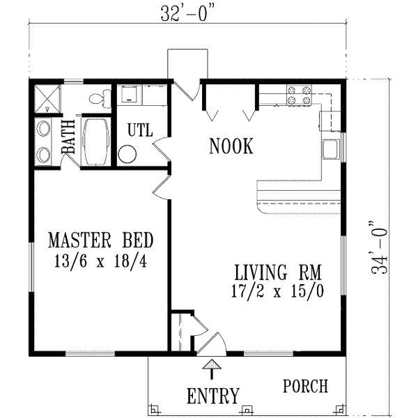 exceptional one bedroom home plans 10 1 bedroom house plans home One Bedroom Cabin Floor Plans