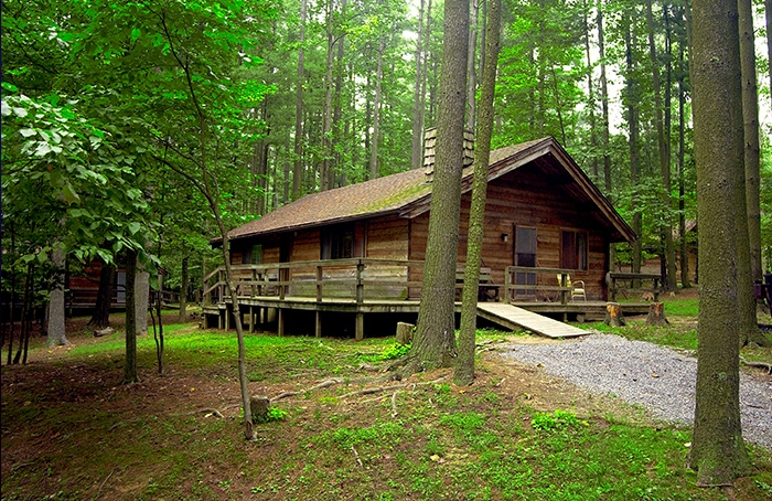 find adventure in ritchie county North Bend State Park Cabins