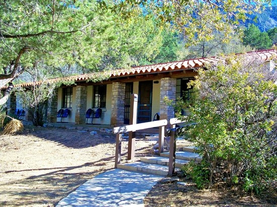 front of emory peak cottages picture of chisos mountains lodge Big Bend National Park Cabins