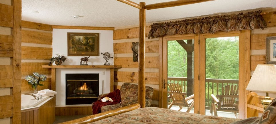 gateway lodge Cooks Forest Cabins With Hot Tubs
