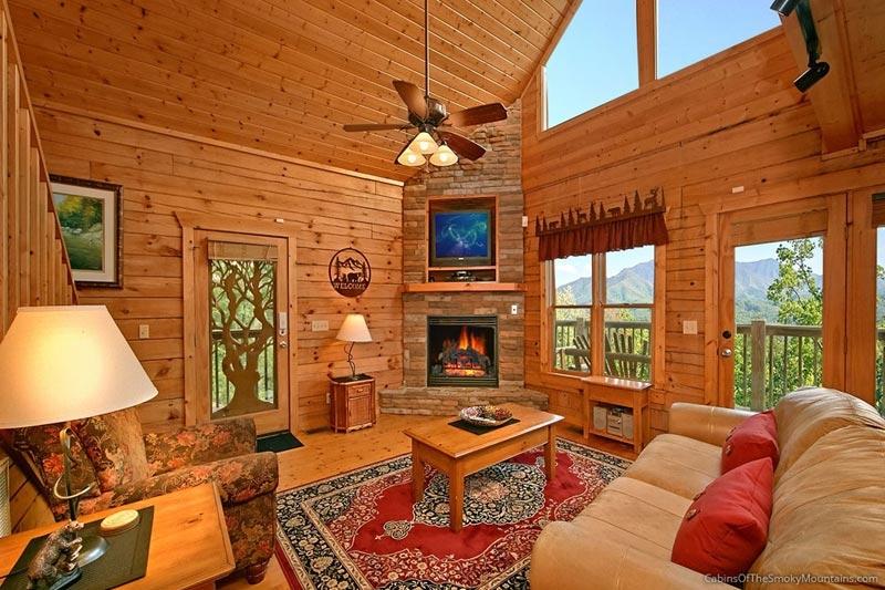 gatlinburg tn cabins smoky mountain rentals from 85 Tennessee Smoky Mountain Cabins