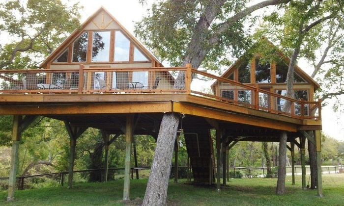 geronimo creek retreat in seguin tx groupon getaways Cabins In New Braunfels Tx