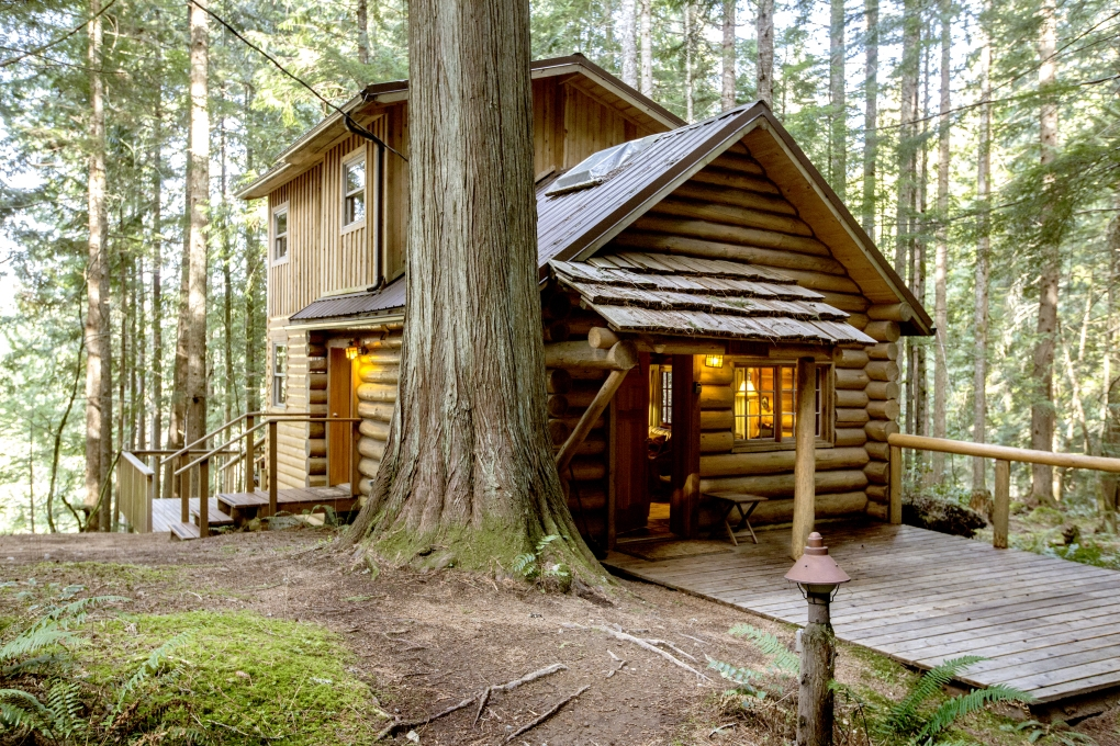 get cozy at vacation cabins near mount rainier the seattle times Deep Forest Cabins At Mt Rainier