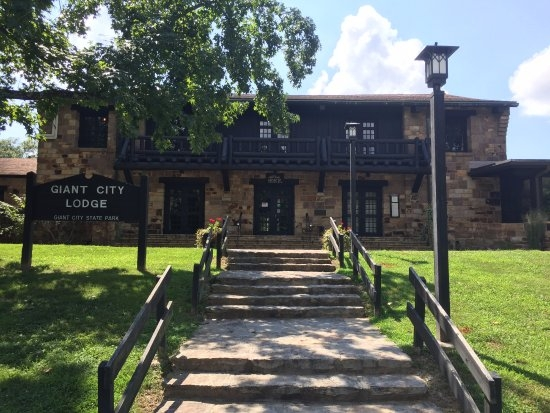 giant city lodge updated 2018 prices campground reviews makanda Giant City State Park Cabins