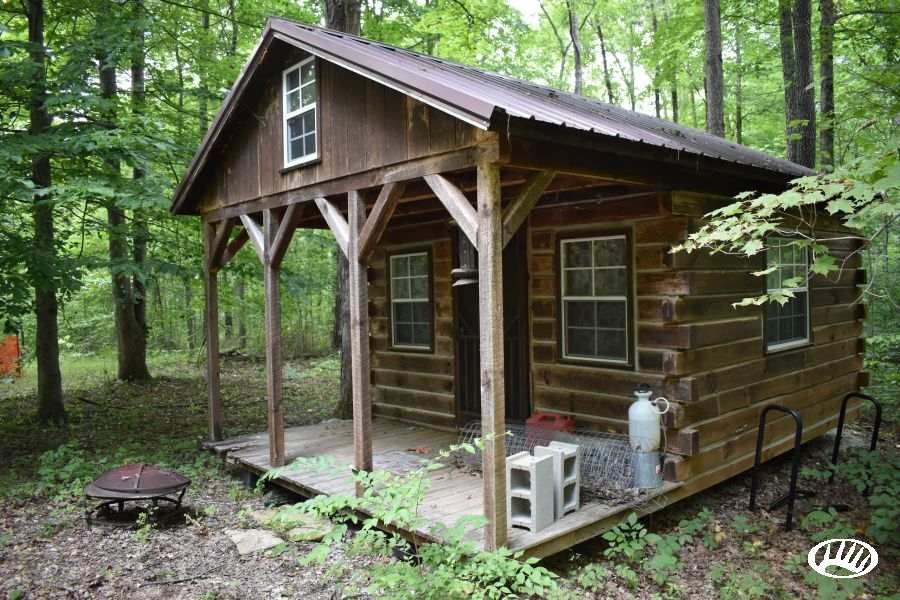 great recreational tract with small cabin located near hoosier Hoosier National Forest Cabins