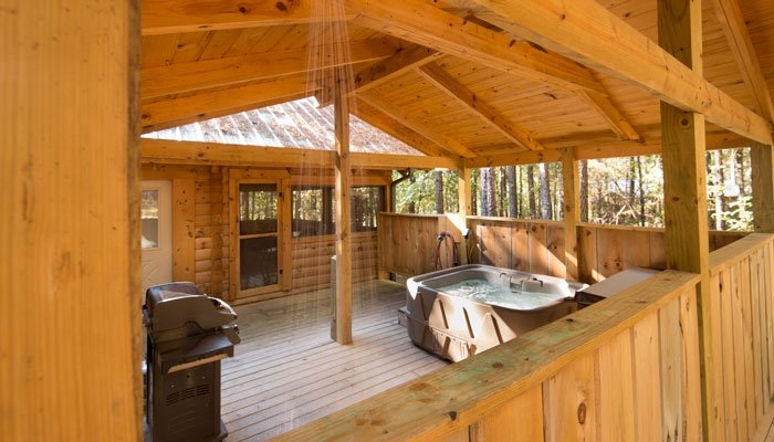 guest rooms romantic cabins in arkansas country charm log cabins Arkansas Cabins With Hot Tubs