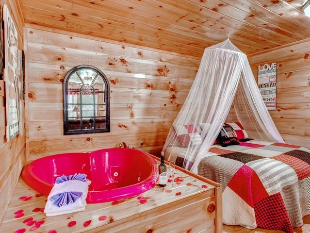 hanky panky affordable cabins in the smokies Romantic Cabins In Gatlinburg