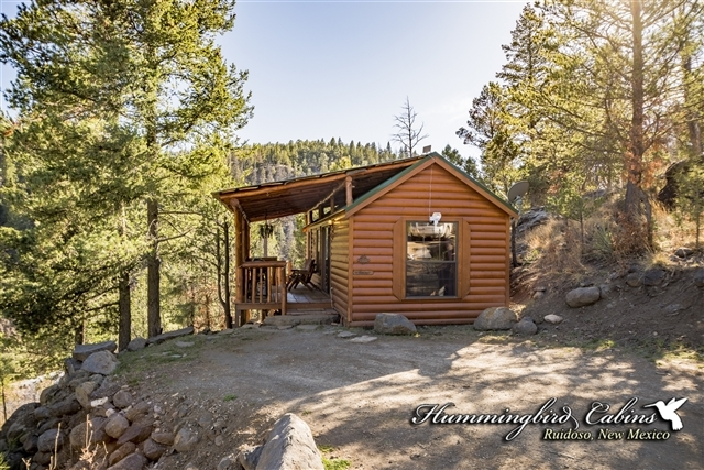 hideout cabin hummingbird cabins Cabins In Ruidoso New Mexico
