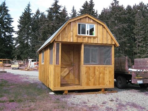 high resolution pole shed house plans ideas for the small barn Small Cabin Plans With Loft 10x20