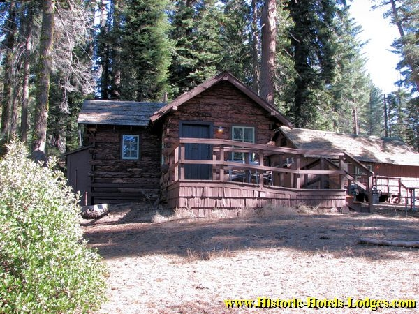 historic hotels lodges grant grove village page 1 Cabins Near Sequoia National Park
