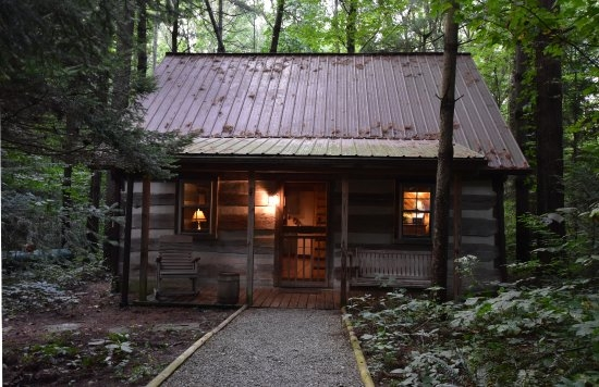 hocking hills frontier log cabins updated 2018 prices campground Hocking Hills Cabins Review