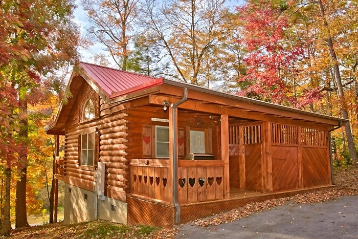 honeymoon cabin in the smoky mountains 1 Bedroom Cabins In Gatlinburg Tn