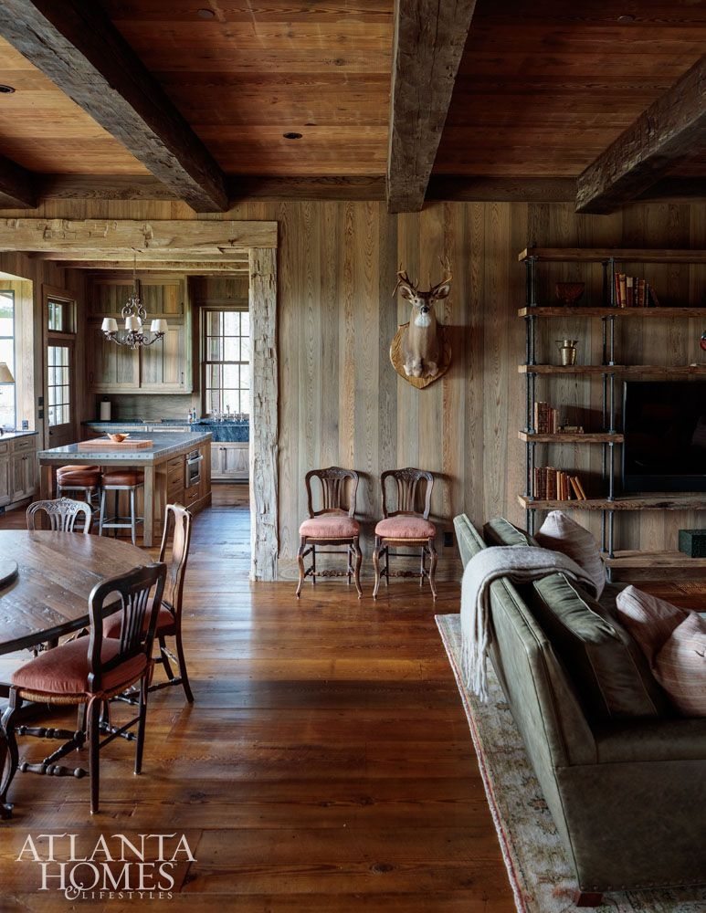 house tour rustic lake wateree hunting lodge my mountain lakeside Hunting Cabins Interior Rustic