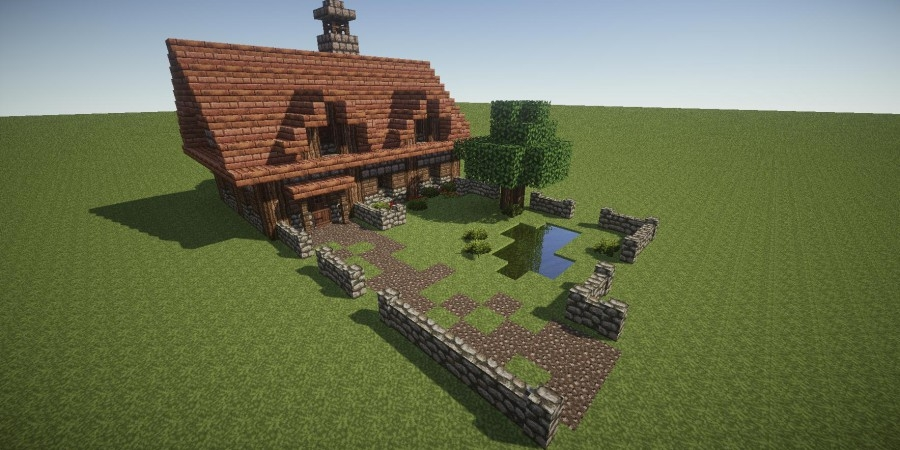 how to build your very own cosy cottage in minecraft bc gb Minecraft Cabin Blueprints