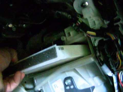 how to replace cabin air filter in a 2010 toyota priusmbjreport 2010 Prius Cabin Air Filter