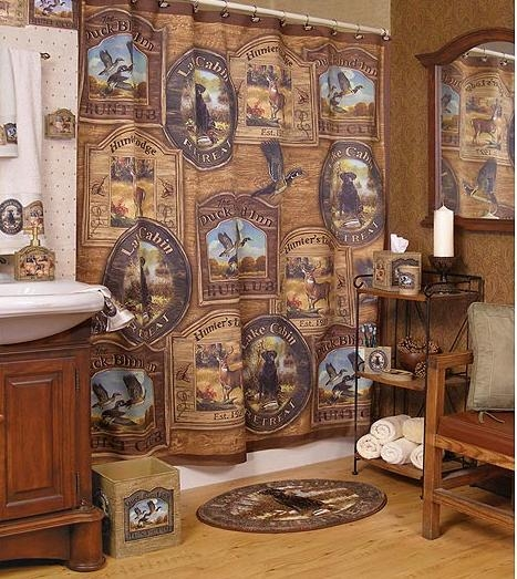 hunting bathroom decor bclskeystrokes cabin bathroom decor white Cabin Bathroom Accessories