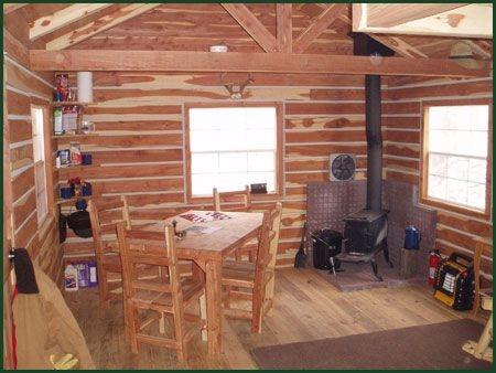 hunting cabins primitive camping spots are available for tent Hunting Cabins Interior Rustic