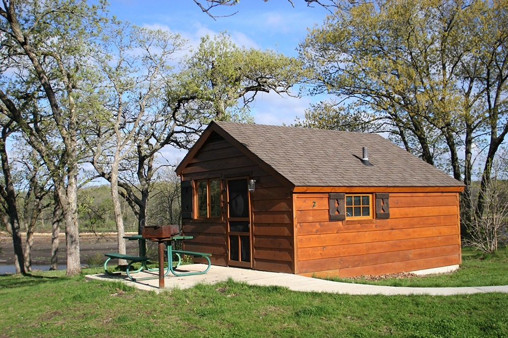 iowas year round camping cabins Iowa State Parks With Cabins