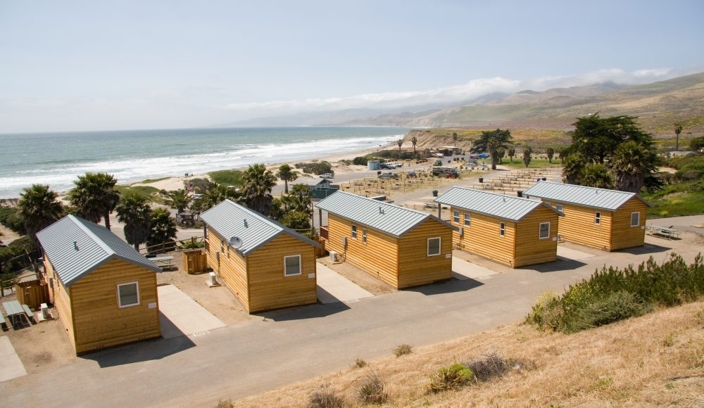 jalama campground and cabins lompoc ca california beaches Santa Barbara Camping Cabins