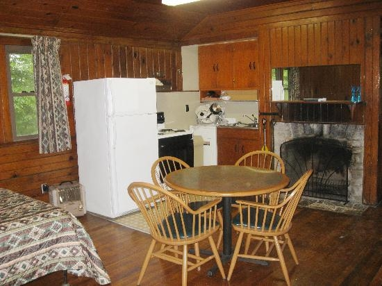 kitchen of rustic cabin picture of norris dam state park rocky Norris Dam State Park Cabins