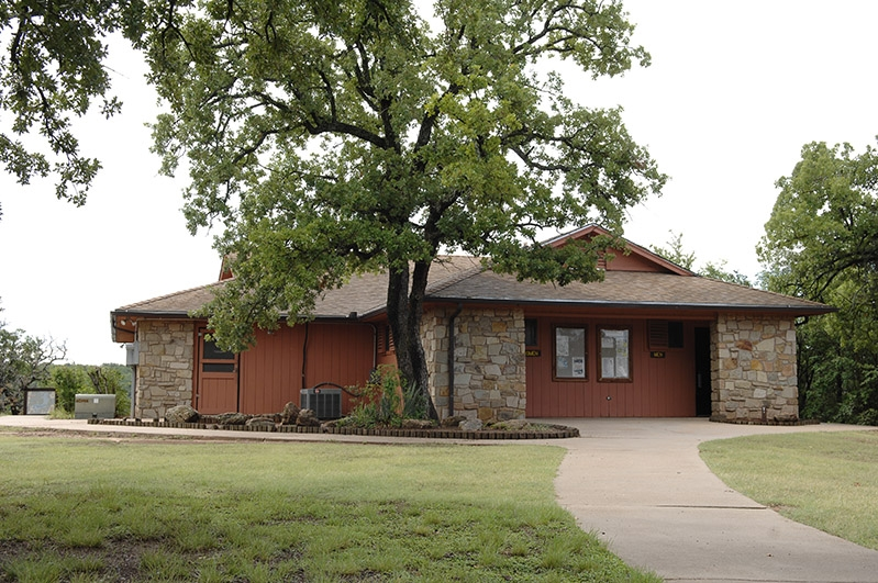 lake mineral wells state park trailway group hall with a kitchen Mineral Wells State Park Cabins