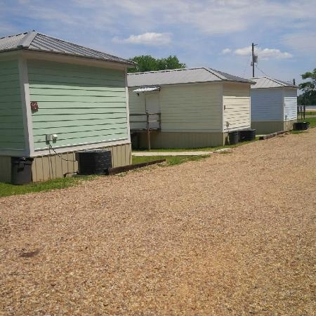 less than creative lineup plus you must park across the road Paul B Johnson State Park Cabins