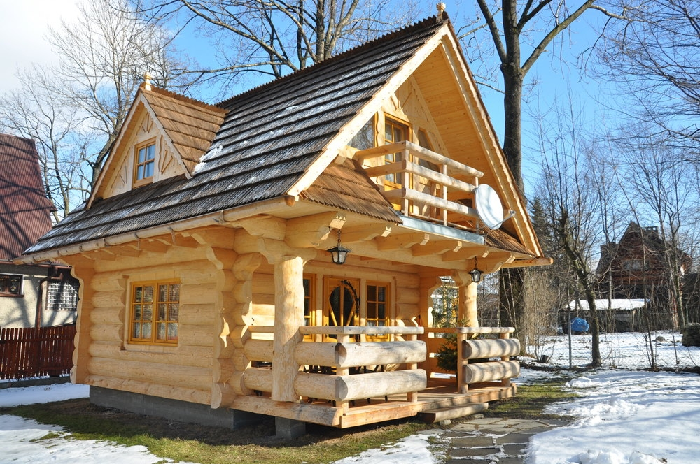 little log houses the little log house company Log Cabin Style House Designs
