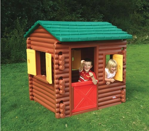 little tikes log cabin playhouse ages 2 years plus 145 x 122m 4 Little Tikes Cabin Playhouse