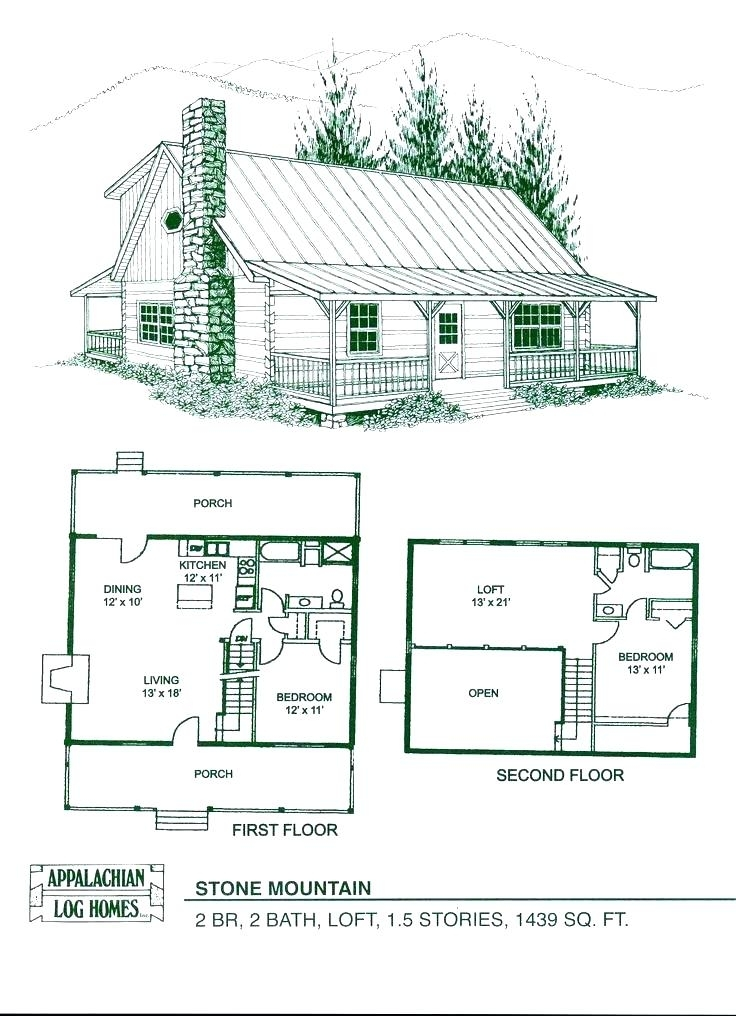 log cabin floor plans with 2 bedrooms and loft house log cabin floor Log Cabin Floor Plans With 2 Bedrooms And Loft