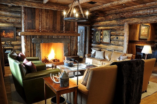 log cabin interiors beautiful rustic design and decoration ideas Rustic Log Cabin Interiors