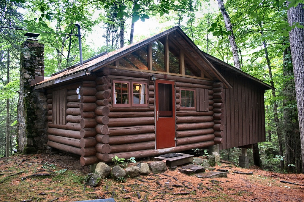 log cabin rental lake placid Adirondack Mountains Cabins