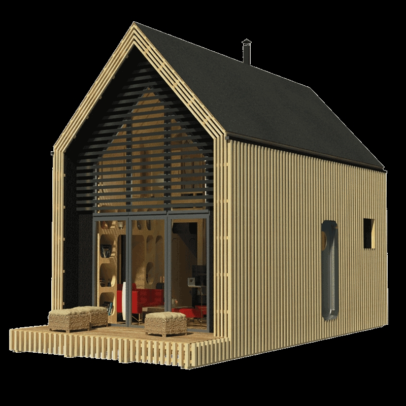 modern tiny house plans Tiny Cabin Floor Plans With Loft
