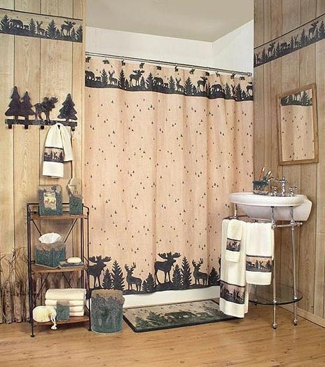 moose cabin lodge decor bathroom accessories huge product cabin Cabin Bathroom Accessories