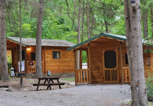 mountain vista campground family camping in the pocono mountains Pa Campgrounds With Cabins