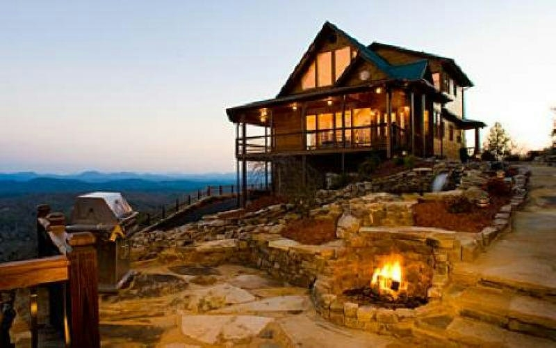 new north georgia mountain cabins property for sale Blue Ridge Mountains Cabin
