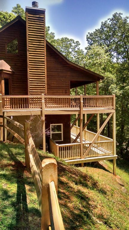 north ga mountain cabin sleeps 6 most beautiful view on the Cabins In North Georgia Mountains