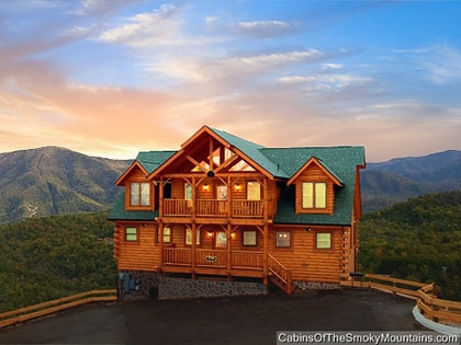 one bedroom cabins in gatlinburg pigeon forge tn Cabins In Tennessee Mountains