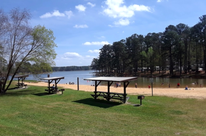 one of americas largest campgrounds is in alabama at wind creek Wind Creek State Park Cabins