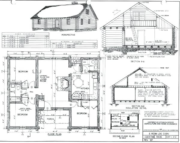 one story log cabin floor plans alpmediaco Log Cabin House Architectural Design And Floorplans