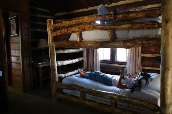 our cabin bunk beds picture of grand canyon lodge north rim Grand Canyon North Rim Cabins
