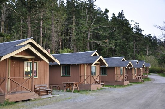 our five cabins picture of cama beach state park camano island Camano Island State Park Cabins