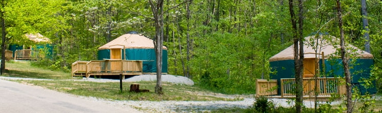 pa dcnr deluxe cottages and yurts Pennsylvania State Park Cabins