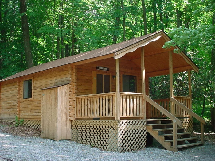 pet friendly camping cabins cottage rentals lake raystown resort Pet Friendly Camping Cabins