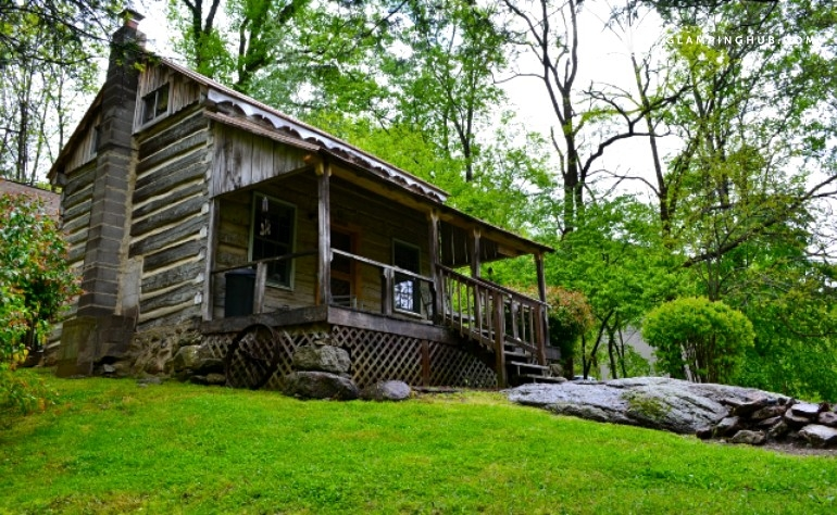 pet friendly rustic log cabin near charlottesville virginia Pet Friendly Cabins In Virginia