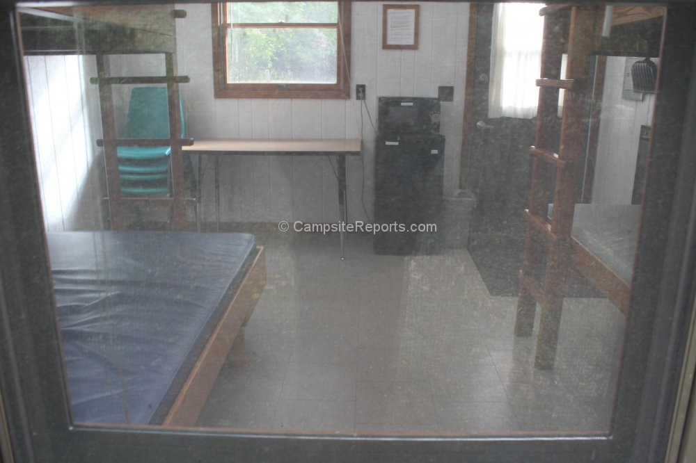 picture of campsite 247 at ludington state park michigan interior Ludington State Park Cabins