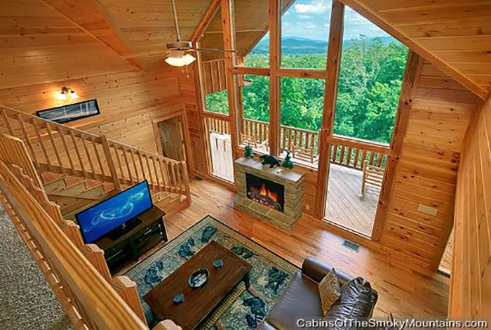 pigeon forge cabin a great smoky mountain escape 5 bedroom Best Cabins In Smoky Mountains