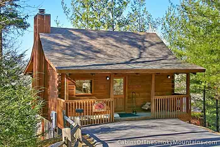 pigeon forge cabin a secluded paradise 1 bedroom sleeps 2 Secluded Cabins In Smoky Mountains